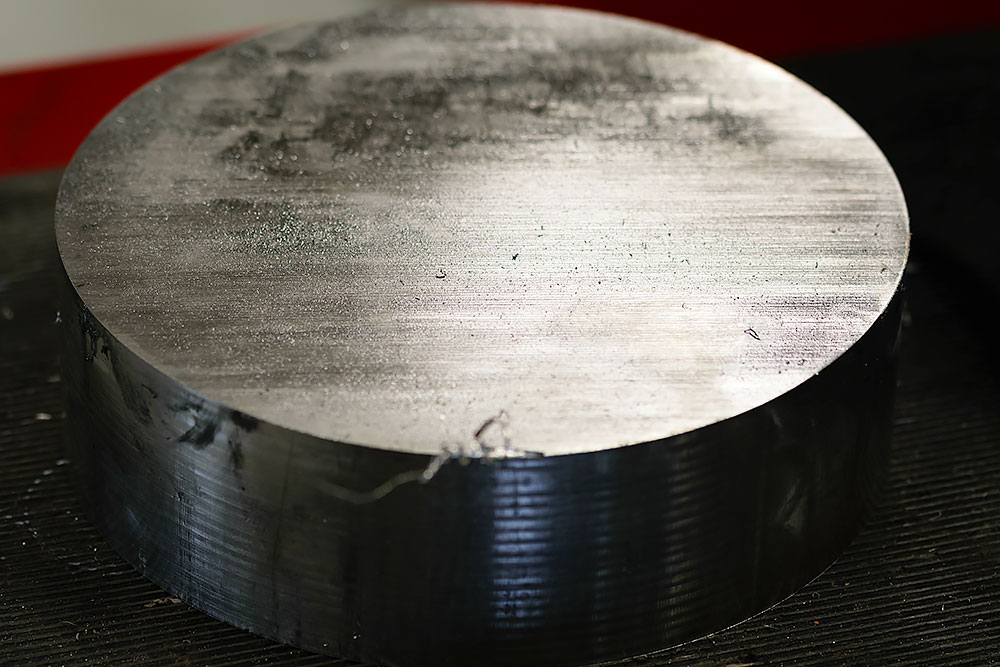 Raw material in steel for cnc milling of bean cutters - Spaantec